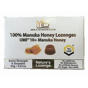 MIS 100%UMFマヌカハニー10+ロゼンジ キャンディー・のど飴 6粒 メローラがMISにリニューアル|sakura891