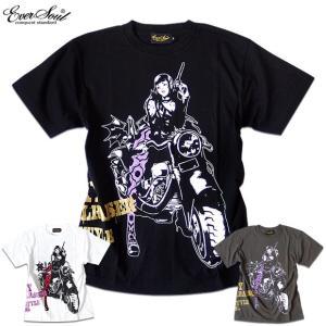 繊細なタッチのグラフィックに価値観あり!セクシー&クールなエロかっこいいガールプリントTシャツ!|sakurafullmoon