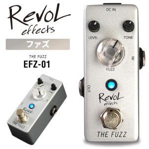 RevoL effects THE FUZZ (ザファズ) EFZ-01【レボルエフェクツ エフェクター EFZ01】 sakuragakki