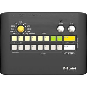 リズム・フレーズを選んで、再生ボタンを押すだけの簡単・シンプル設計。 お気に入りのリズム・フレーズ/...