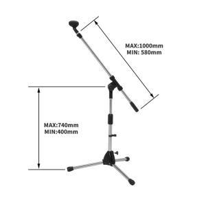 ■マイクホルダー付(直径 約2.5cmまでのマイクに使用可)