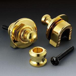 Schaller シャーラー ストラップロックピン 447 (ゴールド)