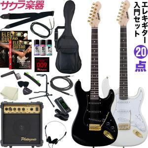 エレキギター 初心者 セット 20点  エレキギター 入門 セット STG-18(大型)