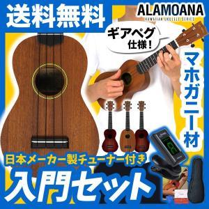 ウクレレ 初心者 入門 セット AlaMoana UK-160G(送料・代引手数料無料)|sakuragakki