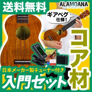 ウクレレ 初心者 入門 セット AlaMoana UK-2500G (送料・代引手数料無料)|sakuragakki