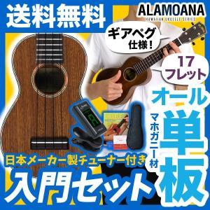 ウクレレ 初心者 入門 セット AlaMoana UK-360G (送料・代引手数料無料)|sakuragakki