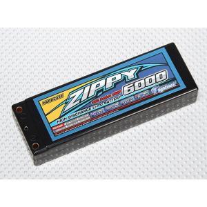 ZIPPY 6000mah 2S2P 35C Hardcase Pack|sakurahobby