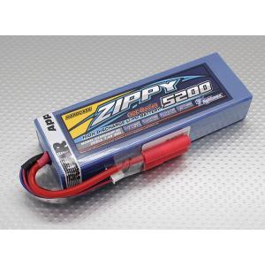 ZIPPY 5200mAh 2S2P 30C hardcase pack (ROAR APPROVED)|sakurahobby