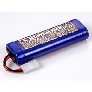 タミヤ ニカドバッテリー 7.2V カスタムパック|sakurahobby