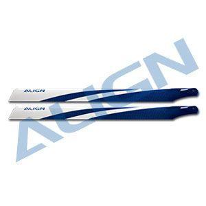 ALIGN T-REX 325カーボンファイバーブレード ブルー|sakurahobby