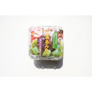 抹茶あんみつ (抹茶蜜&あんこ)(りんご酢使用) 12個入り|sakuraikonnnyaku|02