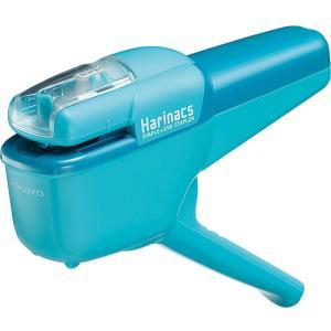 コクヨ 針なしステープラー ハリナックス ハンディ10枚 ライトブルー|sakuramart