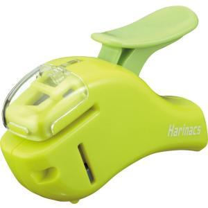 コクヨ 針なしステープラー ハリナックス コンパクトアルファ 緑|sakuramart