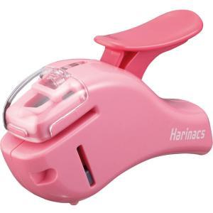 コクヨ 針なしステープラー ハリナックス コンパクトアルファ ピンク|sakuramart
