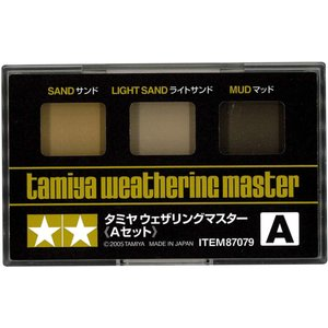 タミヤ メイクアップ材シリーズ No.79 タミヤウェザリングマスターAセット サンド|sakuramart