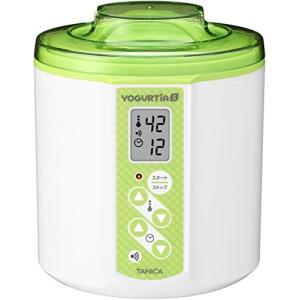 TANICA 温度調節(25〜70℃) ・タイマー・ブザー付ヨーグルトメーカー ヨーグルティアS 1...