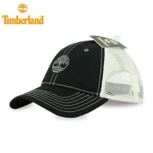 ティンバーランド Timberland ONE size 送料無料 キャップ Cap スナップバック メッシュ ブラック&オフホワイト 42781  正規品 84442a358c43
