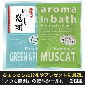のしシール付 アロマインバス 2個組セット  景品 粗品 販促品 記念品 プチギフト お風呂用品 入浴剤