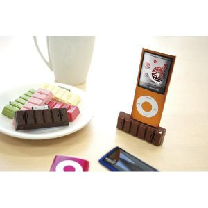 ipod用チョコレート型コンパクトスピーカー|sakuranboya