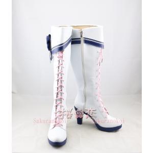 ラブライブ コスプレ ブーツ 靴 lovelive sunshine  国木田花丸   黒澤ルビィ ...