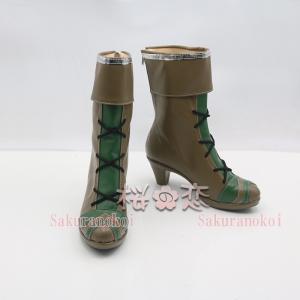 コスプレ靴  SINoALICE シノアリス 風 ピノキオ 風 イベント コスチューム cz339