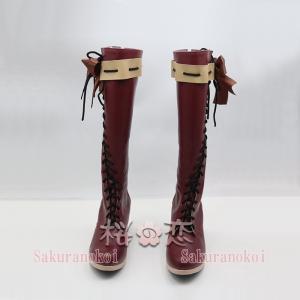 ヴァイオレット・エヴァーガーデン 風 ヴァイオレット 風 ベント コスチューム コスプレ靴  cz356|sakuranokoi