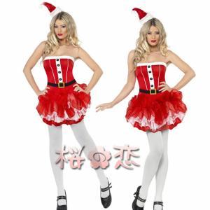 サンタ コスプレ 衣装 誘惑 可愛い セクシーサンタ コスチューム 演出 ハロウィン イベント 舞台 サンタコス ナイトコス|sakuranokoi