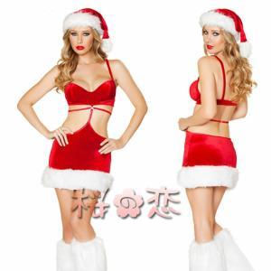 サンタ コスプレ 衣装 セクシーサンタ コスチュ...の商品画像
