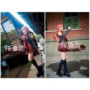 コスプレ道具ファイナルファンタジー零式FF零式 ケイト(Cater) コスプレ衣装 edl05銃|sakuranokoi
