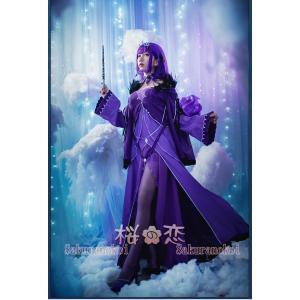 Fate Grand Order コスプレ フェイト グランドオーダー 風 魔槍 スカサハ 師匠 Caster 風 コスプレ衣装 FGO コスチュームhhc0853 sakuranokoi 02