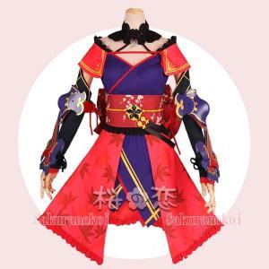 Fate Grand Order コスプレ 宮本武蔵 風 みやもとむさし コスプレ衣装 FGO フェイト グランドオーダー hhc120|sakuranokoi|02