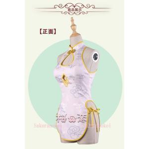 コスプレ衣装  すーぱーそに子 風  チャイナドレス 風 コスチューム 演出 変装 セクシー衣装hhc150|sakuranokoi|03