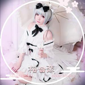 アズールレーン 風 雪風 ブランコ様 風 コスプレ衣装 イベント パーティー コスチューム 変装hhc167|sakuranokoi