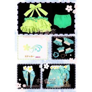 ラブライブ Lovelive トロピカルパレオ 風 コスプレ衣装 水着 ビキニ キャラクター変更可 hhc180|sakuranokoi|15
