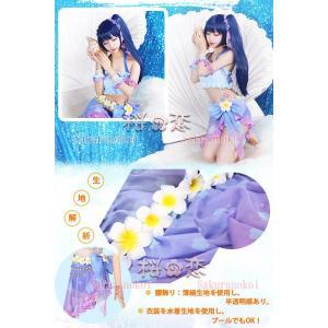 ラブライブ Lovelive トロピカルパレオ 風 コスプレ衣装 水着 ビキニ キャラクター変更可 hhc180|sakuranokoi|04