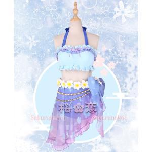 ラブライブ Lovelive トロピカルパレオ 風 コスプレ衣装 水着 ビキニ キャラクター変更可 hhc180|sakuranokoi|05