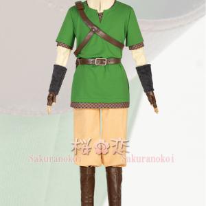 ゼルダの伝説 スカイウォードソード リンク コスプレ衣装 コスチューム cosplay パーティー イベント mg076 sakuranokoi