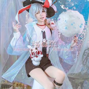 不思議の国のアリス アリス・イン・ワンダーランド 三月兔 コスプレ衣装 コスチューム cosplay パーティー イベント sf1001 sakuranokoi