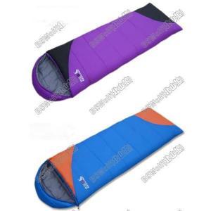 半額セール 耐寒−10℃◆高性能寝袋シュラフ◆キャンプ封筒型連結可能 SL016 sakuranokoi