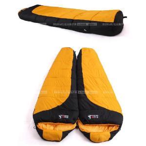 半額セール 耐寒-12℃◆高性能寝袋シュラフ◆キャンプ連結可能マミー型SL020 sakuranokoi