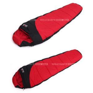 半額セール 耐寒-15℃◆高性能寝袋シュラフ◆キャンプ連結可能マミー型SL021 sakuranokoi