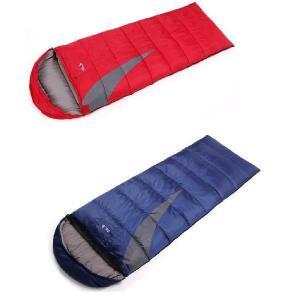 半額セール 耐寒-0℃◆高性能寝袋シュラフ◆キャンプ封筒型連結可能 SL028 sakuranokoi