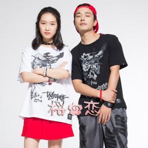 新作★ファッション★衣装  Tシャツ  B-BOX R&B 秋服 男女共通 日常服uc0004|sakuranokoi
