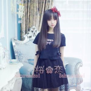 新作 ロリータ・ファッション 衣装 チュールスカート   女性服 日常服ur0004|sakuranokoi