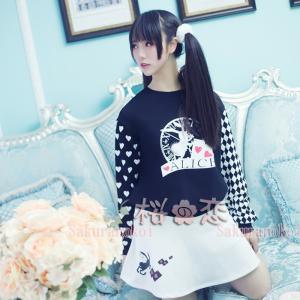 新作 ロリータ・ファッション 衣装 兔長袖衣装  女性服 日常服ur0010|sakuranokoi
