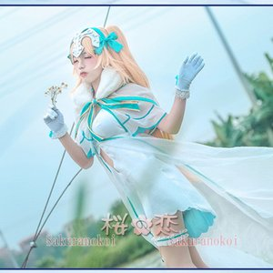 Fate GrandOrder 風  ジャンヌ・ダルク  風 コスプレ衣装 コスチューム フェイト グランドオーダー uw591