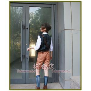 一部即納対応 IdentityV アイデンティティ 第五人格 コスプレ衣装  傭兵 ナワーブ・サベダー スプリング 風 仮装 変装 コスチューム イベントxy001|sakuranokoi|05