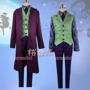 Batman Joker ジョーカー風 ピエロ 仮装 変装 コスプレ衣装 コスチューム イベントxy032 sakuranokoi