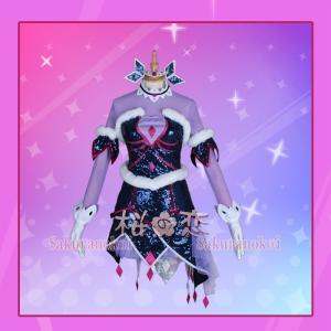 この商品は新品です。  ★構成:ワンピース、王冠、頭飾り、ネック飾り、手袋、腕飾り  材質:ポリエス...