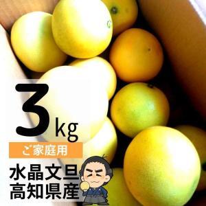 水晶文旦 3kg入 ご家庭用 ハウスブンタン 高知産 早生ぶんたん 沖縄県と離島は、別途1000円配送料がかかります。